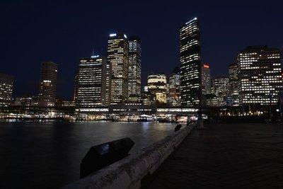 Circular Quay nachtzicht