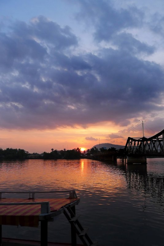 Sunset in Kampot