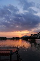 Sunset in Kampot