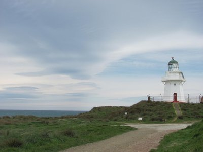 The light house near Curio bay