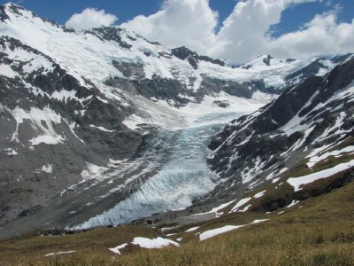Dart glacier on Rees-Dart track