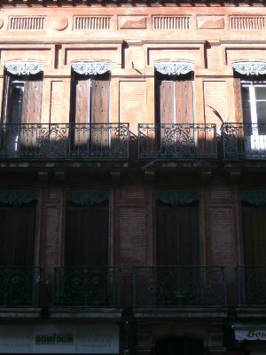 Toulouse old streets