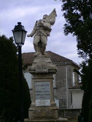 Tournon war memorial