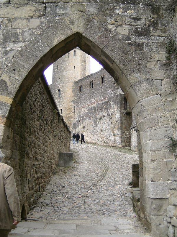 Carcassonne Le Cite entrance