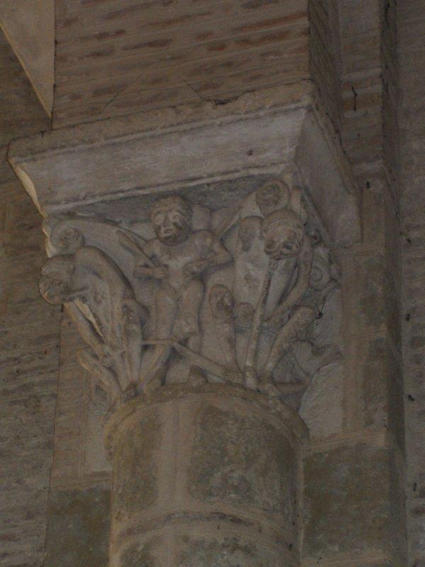 Église Saint-Semin column