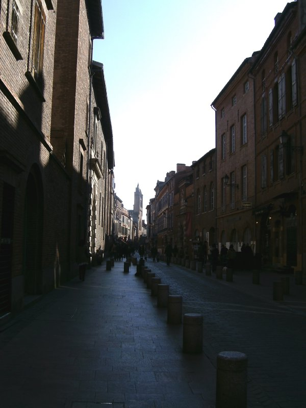 Toulouse street in the old city