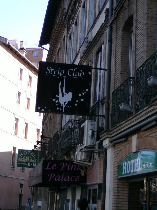 Toulouse red light district