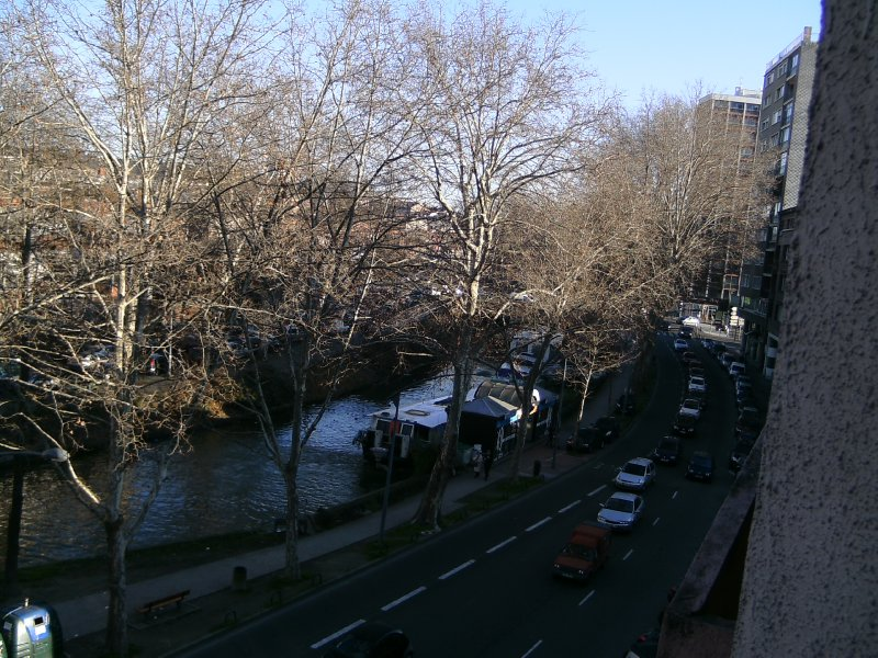Toulouse - view from my room