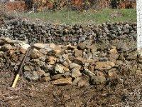 2nd job rebuilding stone barrier