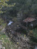 José's stunning quinta - that's the adega you can see