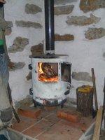 My saving grace - the log burner