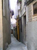 Narrow streets of Vila Nova de Gaia