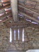 Original old roof receiving new life
