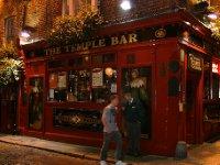 Popular Irish pub area