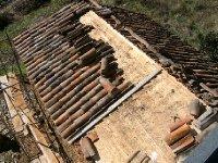 Roof repairs to casa velha