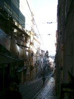 The funicular in Baixa Chaido