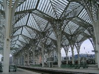 The journey begins at Oriente train station
