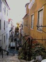 Typical Lisboa street