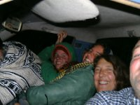 You really can fit 5 people in the front of a bakkie!