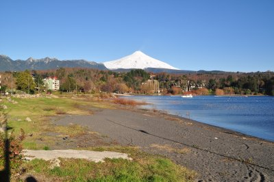 View over lake Villarica