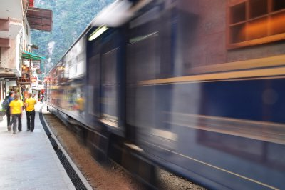 Aguas Calientes Train