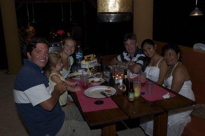 Dinner at Vista del Olas