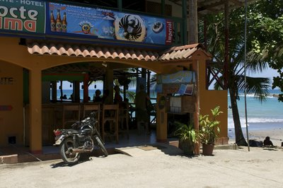 Bar by the beach