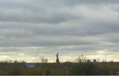 Statue of Liberty from NJ
