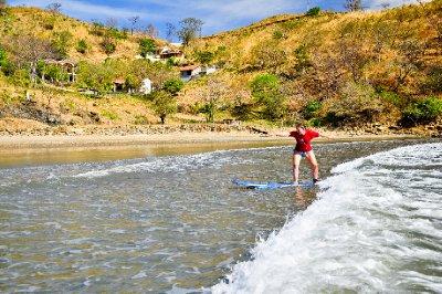 San Juan - The waves were huge, honestly