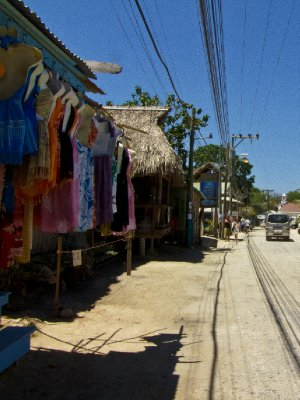 Roatan, Honduras - Main street