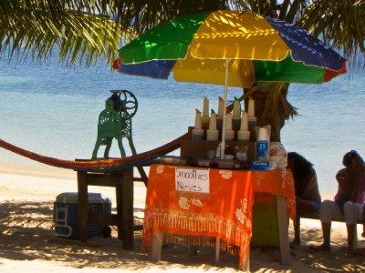 Roatan, Honduras - Smoothy stand