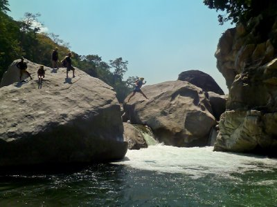 La Ceiba, Honduras - Jess jumping