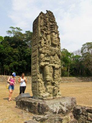 Copan, Honduras - Mayan statues