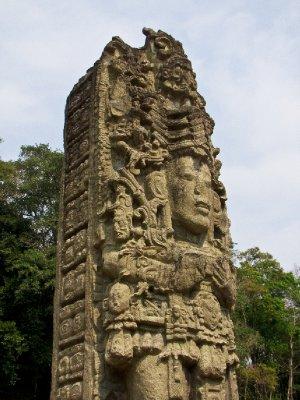 Copan, Honduras - Intricate Mayan carving