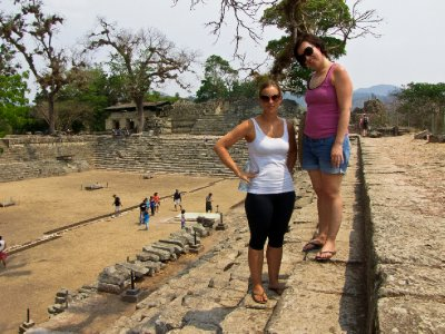 Copan, Honduras - Jess and Carly