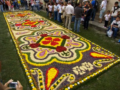 Antigua, Guatemala - Amazing Street Carpet