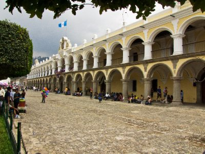Antigua, Guatemala - The Main Plaza