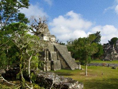 Tikal, Guatemala - Mayan Temple