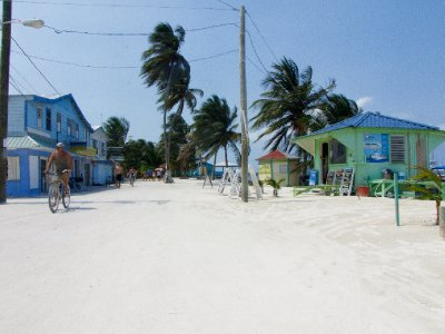 Caye Caulker, Belize - Mainstreet