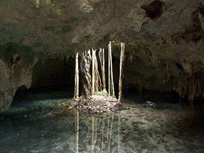 Tulum, Mexico - Underground reflections