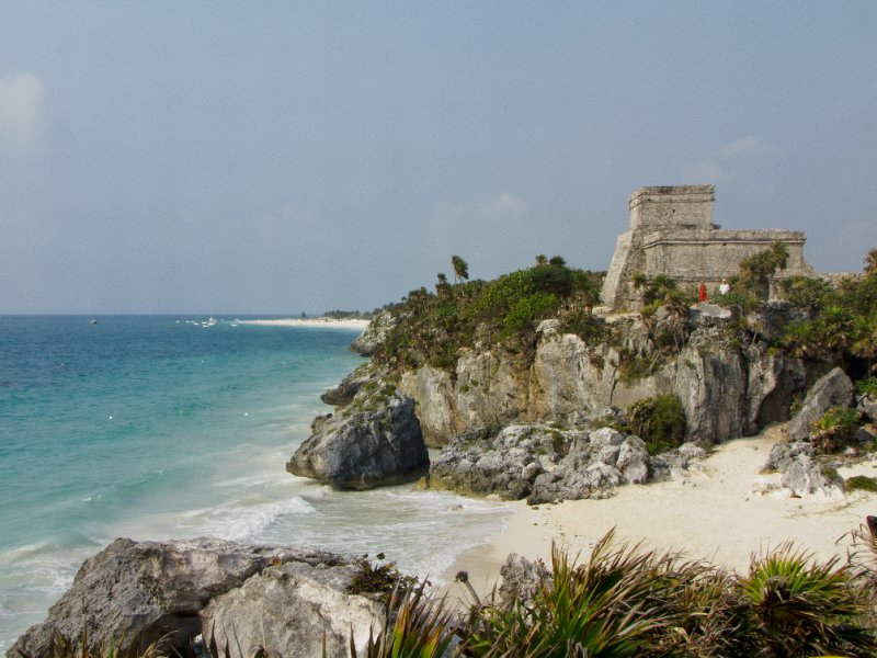 Tulum, Mexico - The castle