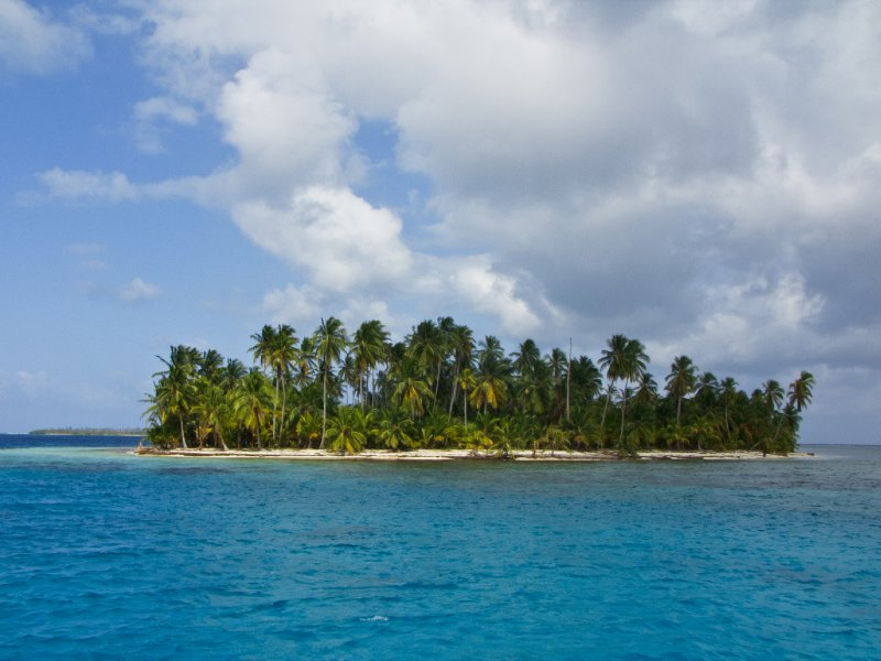 San Blas, Panama - A classic deserted island