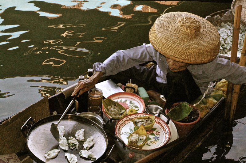 Floating Market, Bangkok 1