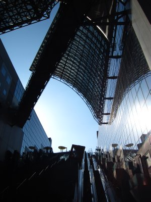 The Kyoto JR Station