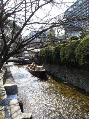 Waterway in Kyoto