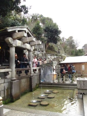 Holy water at the Kiyomizu Temple