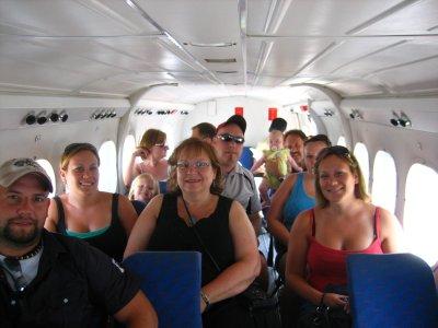 Plane ride to Taveuni