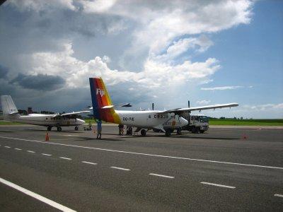 Our plane to Taveuni