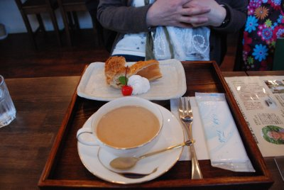 Tea time in Nara