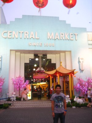 Shopping at Central Market